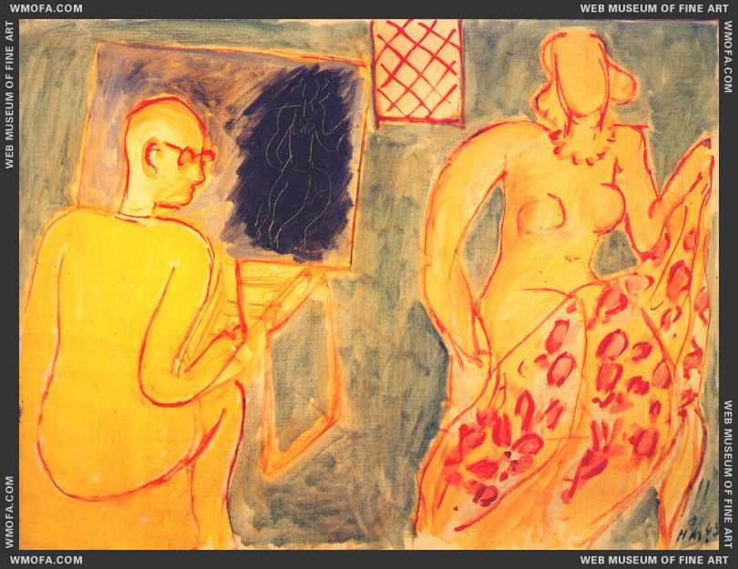The Painting Session 1942 by Matisse, Henri