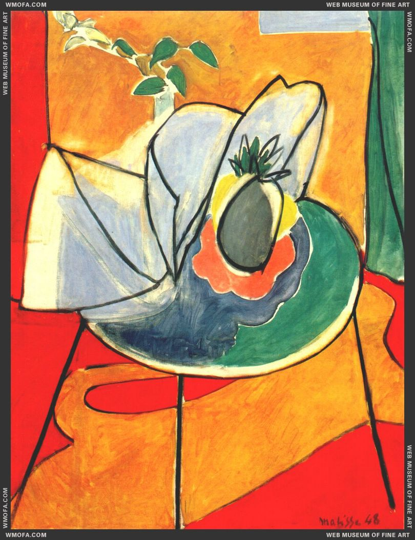 The Pineapple 1948 by Matisse, Henri