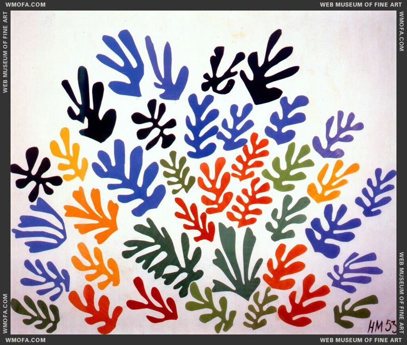The Sheaf 1953 by Matisse, Henri