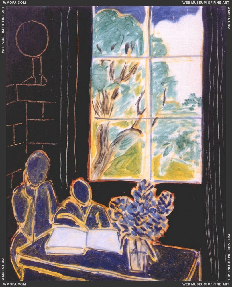 The Silence Living in Houses 1947 by Matisse, Henri