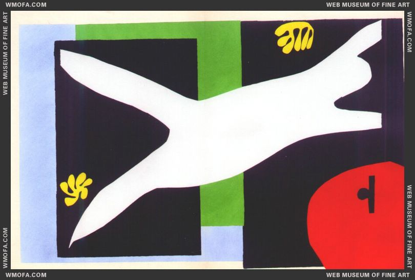 The Swimmer in the Aquarium (Jazz Plate XII) by Matisse, Henri