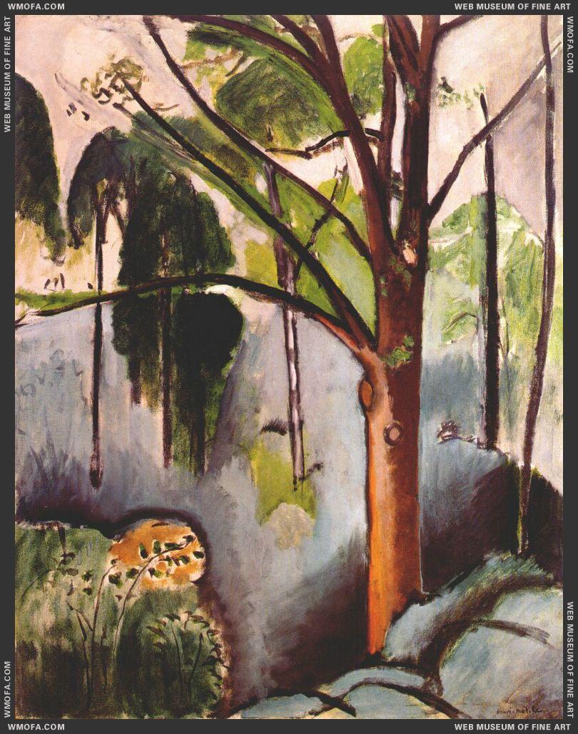 Trivaux Pond 1917 by Matisse, Henri