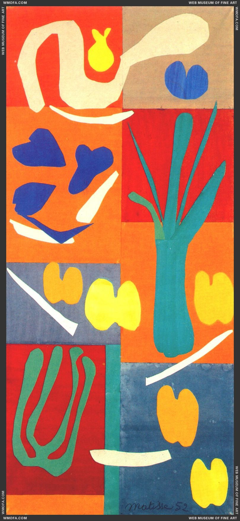 Vegetables c1951 by Matisse, Henri
