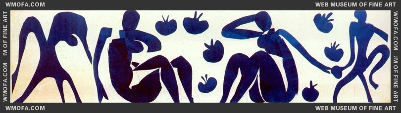 Women and Monkeys 1952 by Matisse, Henri