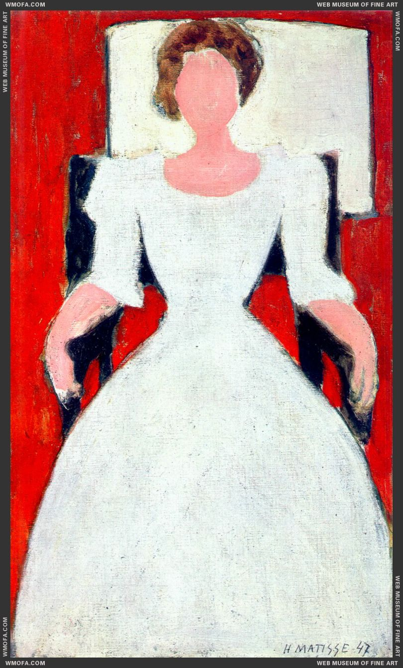 Young English Girl 1947 by Matisse, Henri