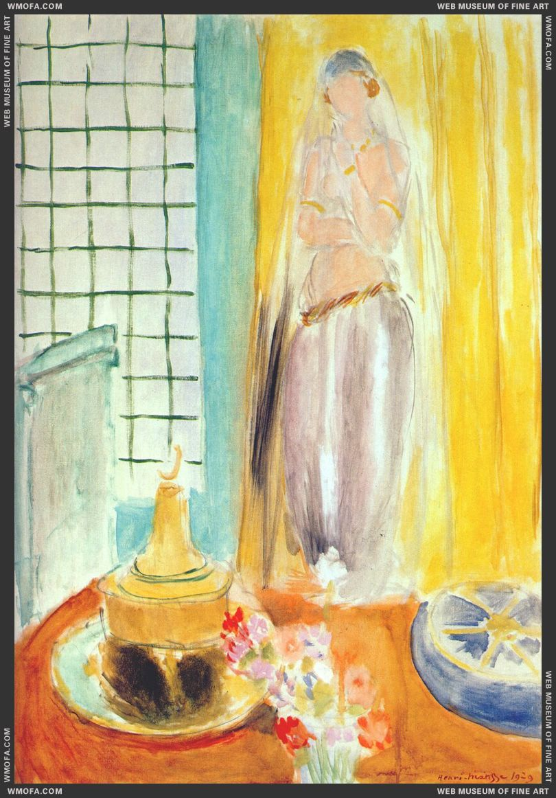 he Moorish Woman 1929 by Matisse, Henri
