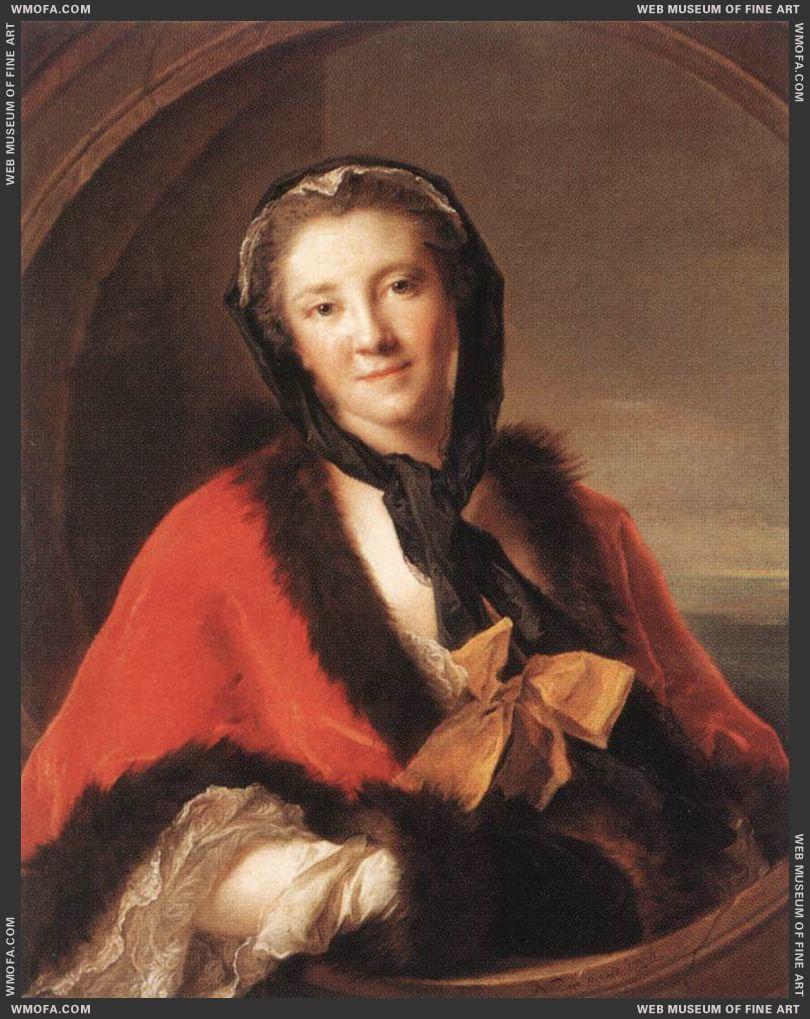 Comtesse Tessin 1741 by Nattier, Jean-Marc