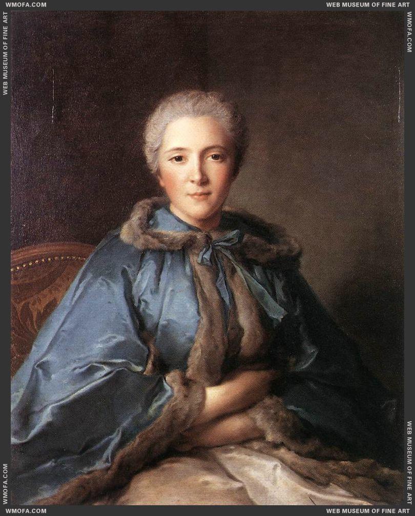 Comtesse de Tillieres 1750 by Nattier, Jean-Marc