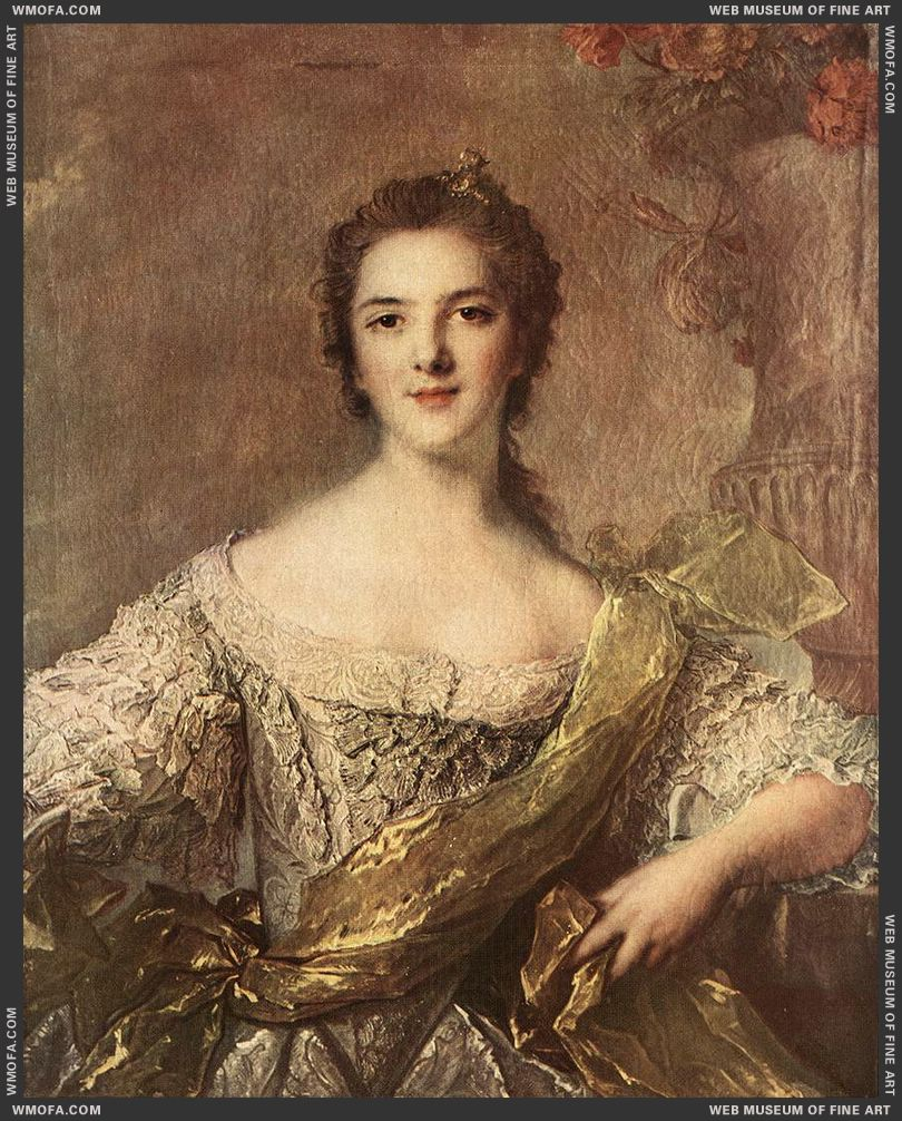 Madame Victoire 1748 by Nattier, Jean-Marc