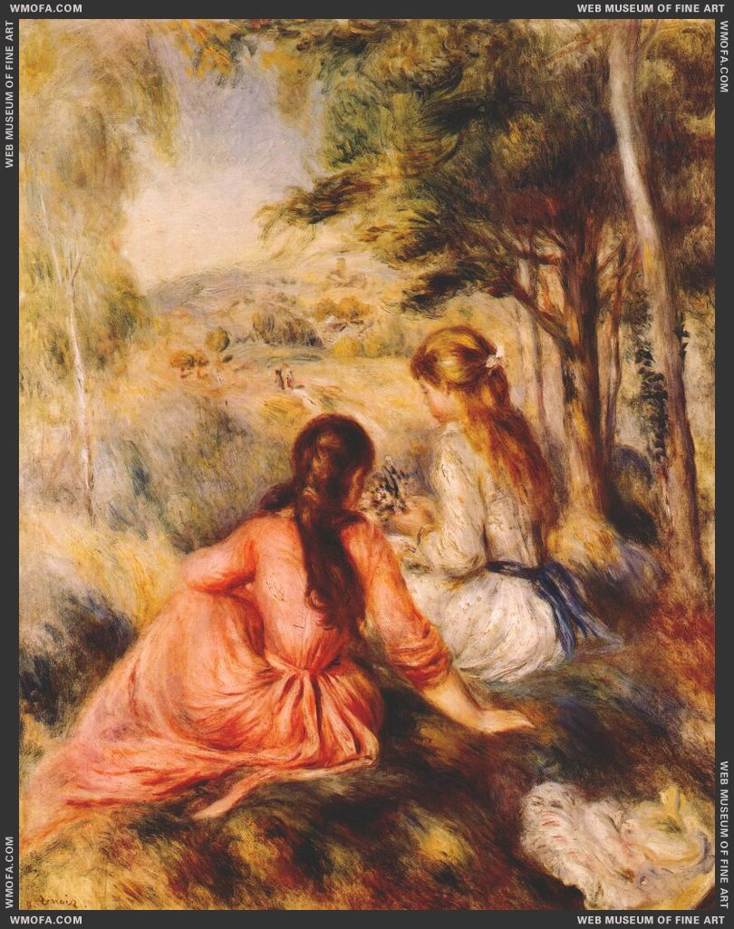 In the Meadow by Renoir, Pierre-Auguste