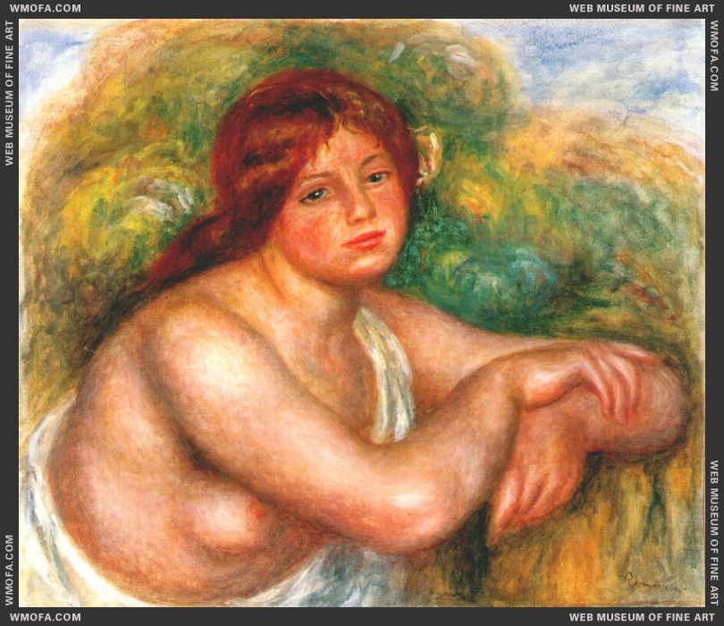 Study of a Nude by Renoir, Pierre-Auguste