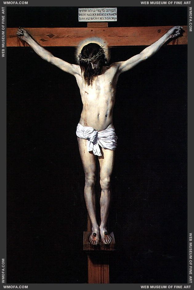 Christ on the Cross 1632 by Velazquez, Diego