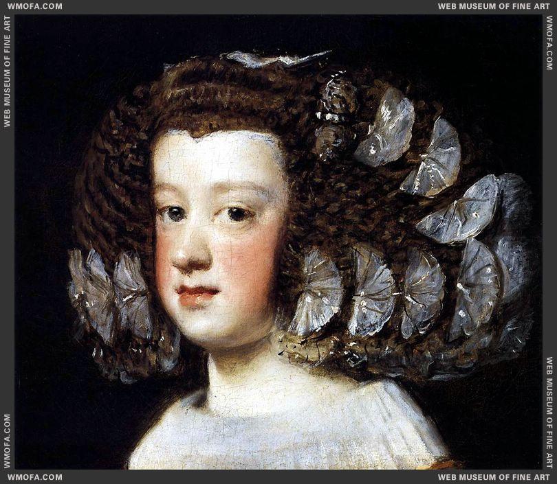 Infanta Maria Teresa 1651-1652 by Velazquez, Diego