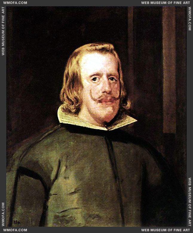 Philip IV c1655 by Velazquez, Diego