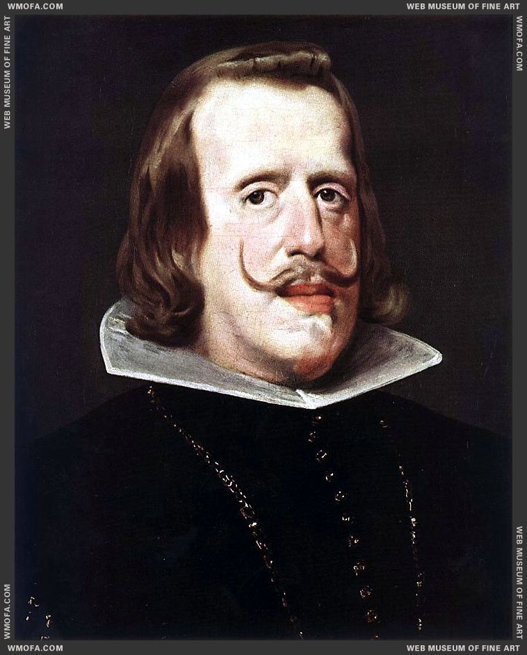 Portrait of Philip IV 1652-1653 by Velazquez, Diego
