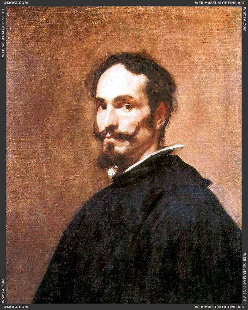 Portrait of a Man c1649 by Velazquez, Diego