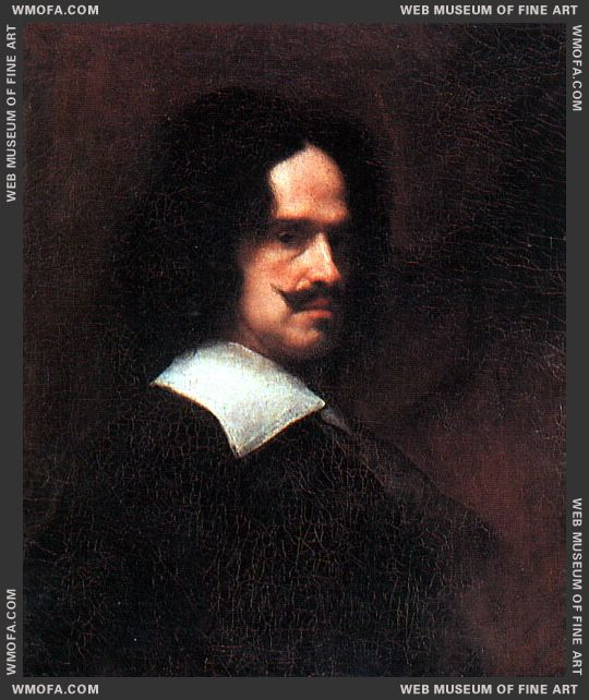 Self-Portrait 1643 by Velazquez, Diego