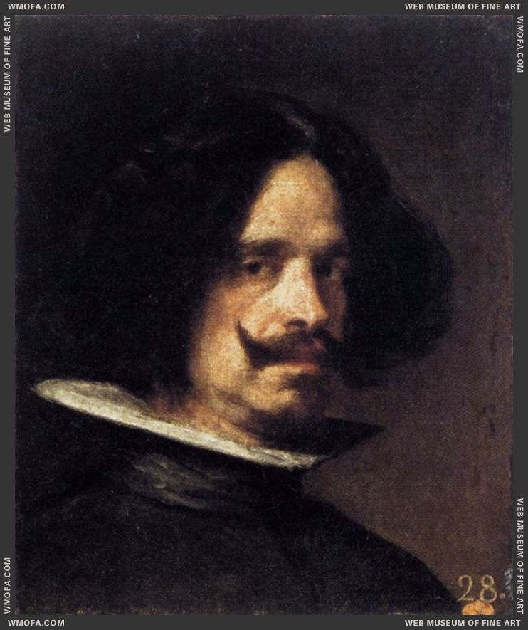 Self-Portrait c1640 by Velazquez, Diego