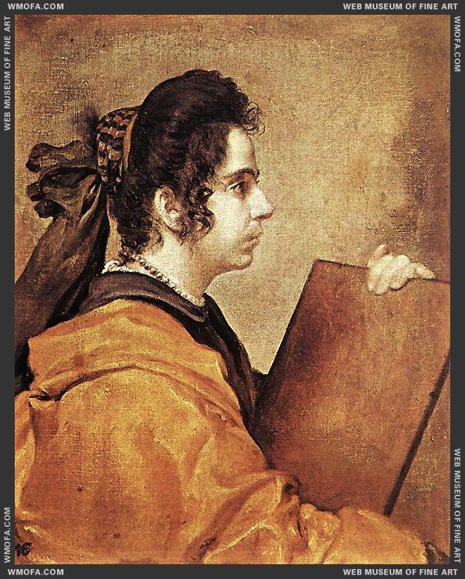 Sibyl c1632 by Velazquez, Diego