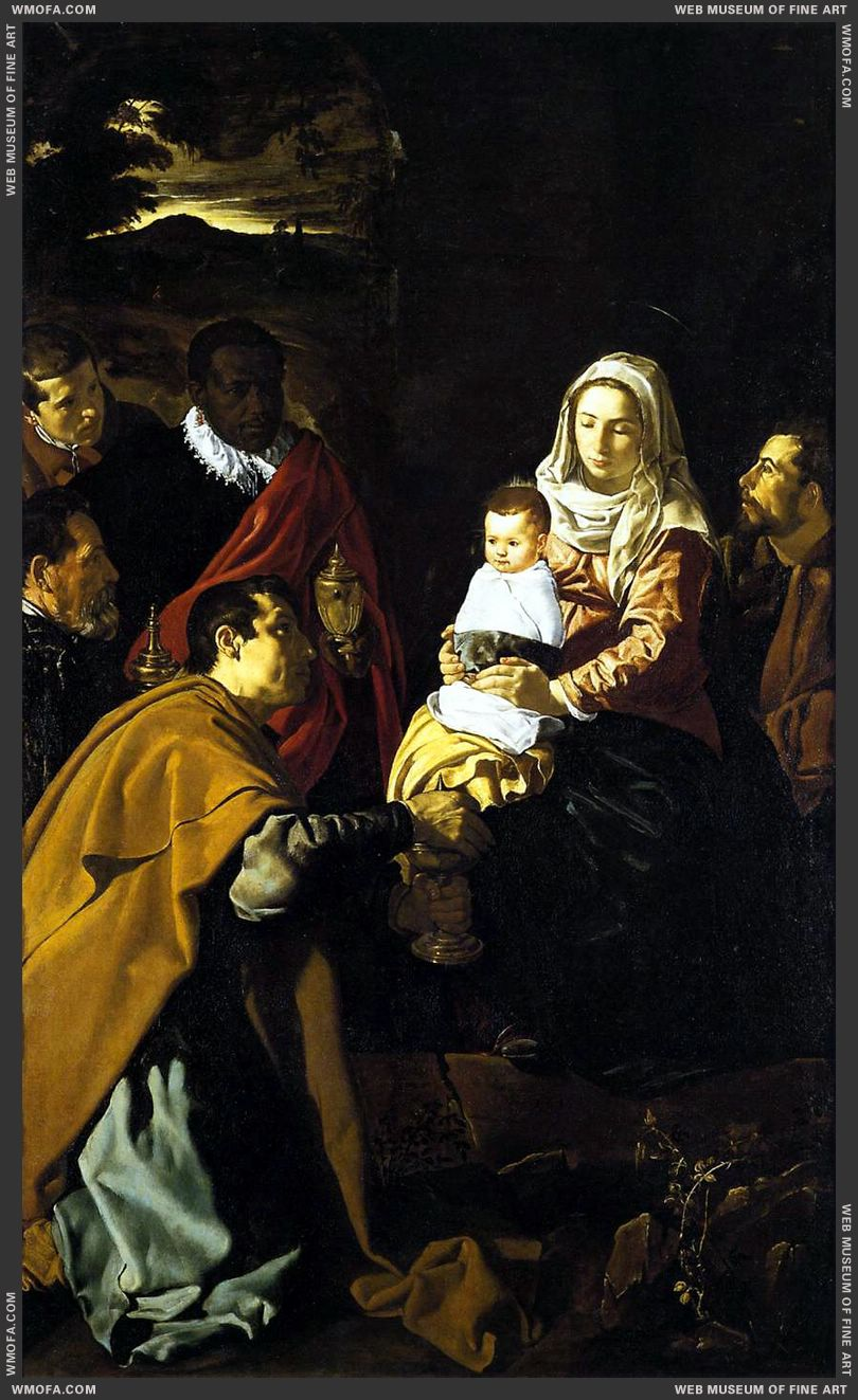 The Adoration of the Magi 1619 by Velazquez, Diego