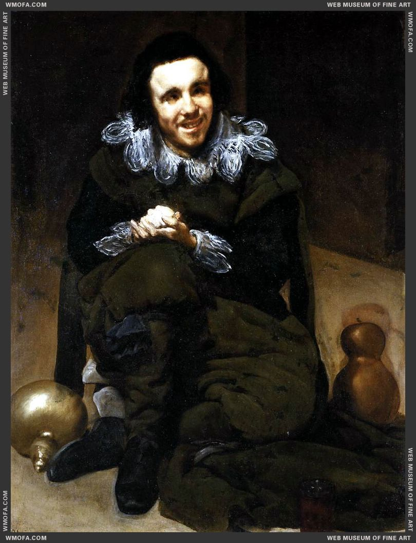 The Dwarf Don Juan Calabazas, called Calabacillas 1637-1639 by Velazquez, Diego