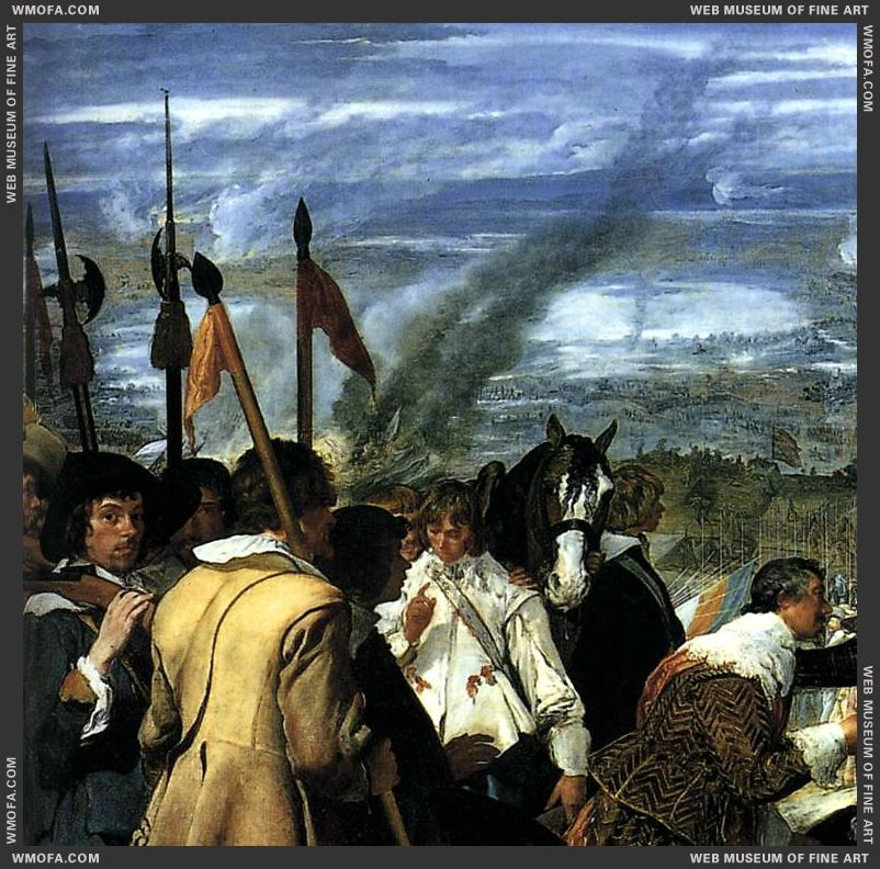 The Surrender of Breda - detail - 1634-1635 by Velazquez, Diego